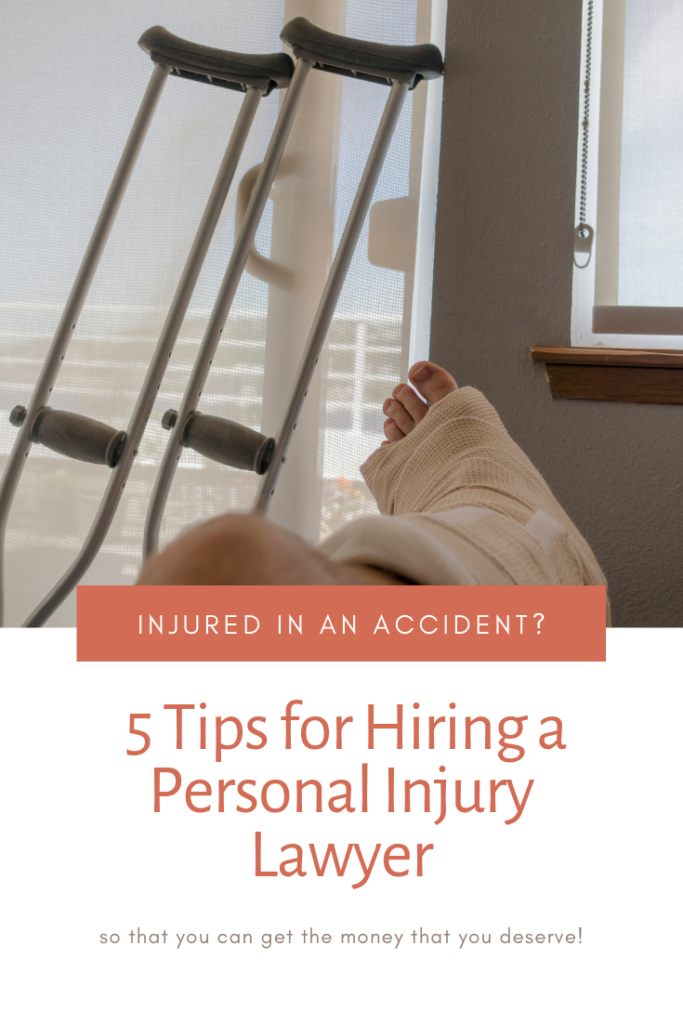 5 Tips for Hiring a Personal Injury Lawyer