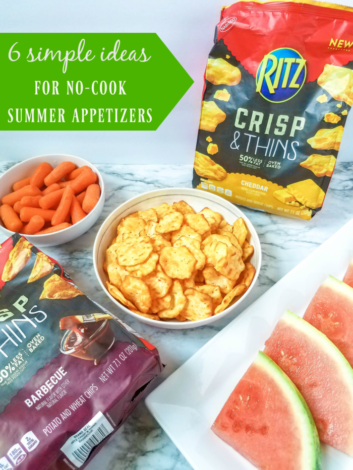 No Cook Summer Appetizers