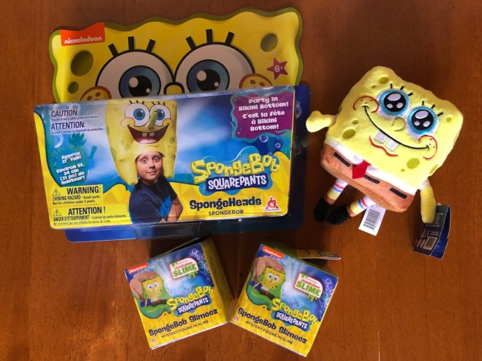 SpongeBob SquarePants Product Line From Alpha Group