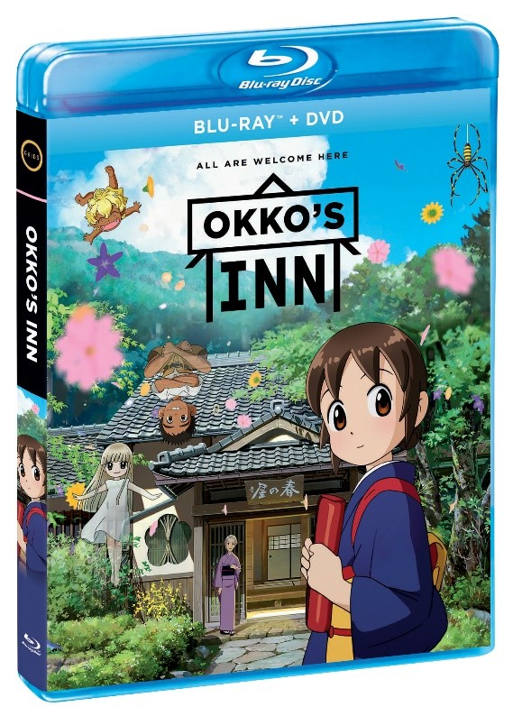 Anime Feature Okko's Inn Comes to Blu-ray and DVD July 2nd