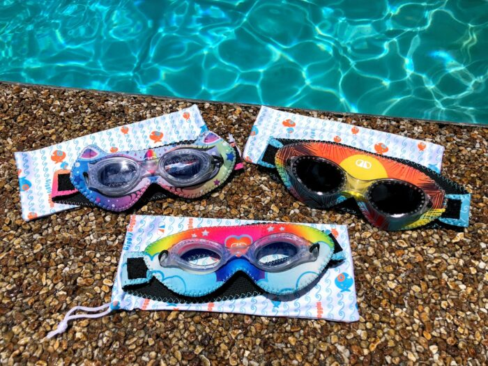 Giggly Goggles by DaphDaph Should be in Every Swim Bag!