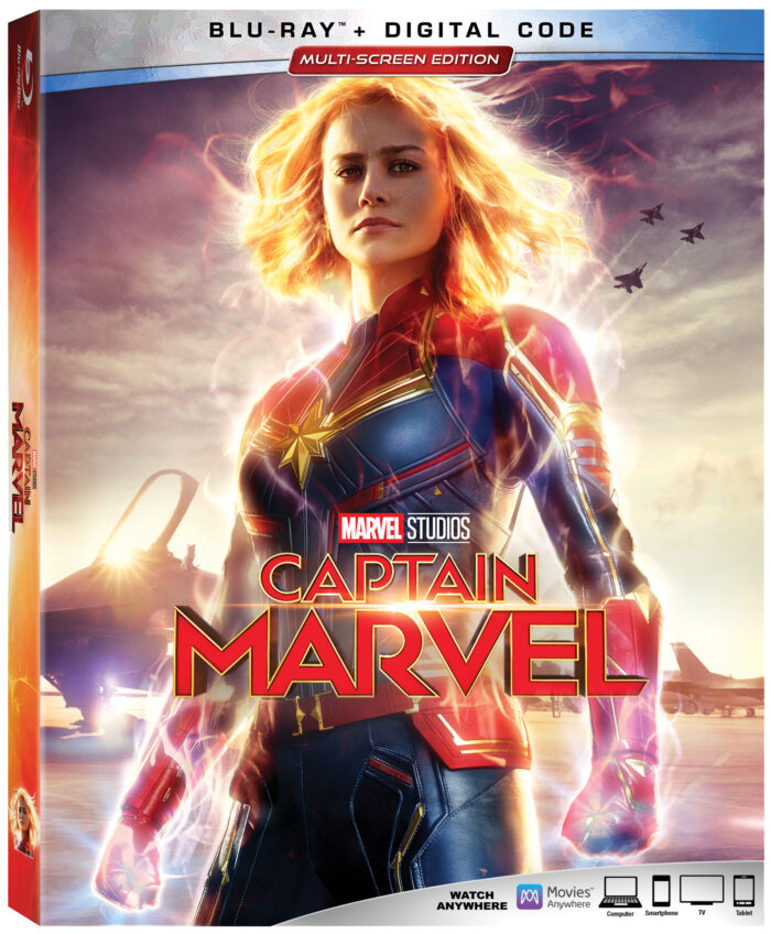 Captain Marvel Launches on Digital and Lands In Blu-ray Collections