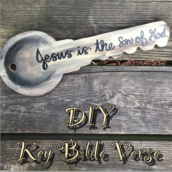 DIY Key Bible Verse