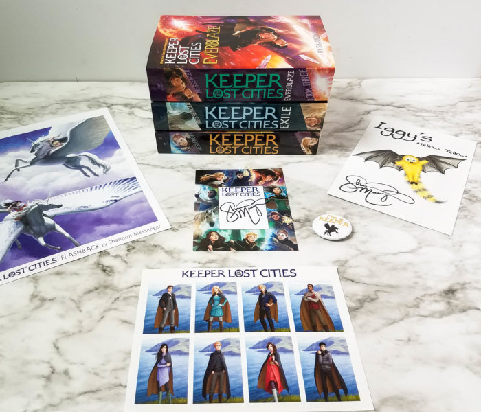 Keeper of the Lost Cities Giveaway
