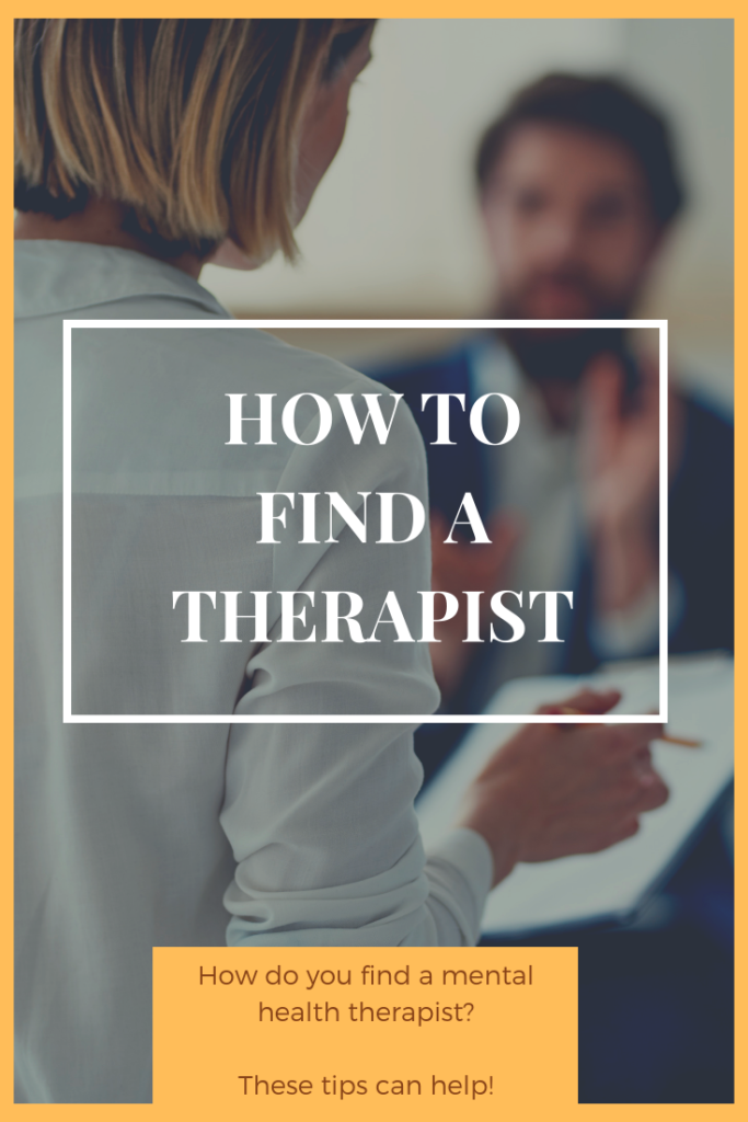 How Do You Find a Mental Health Therapist?