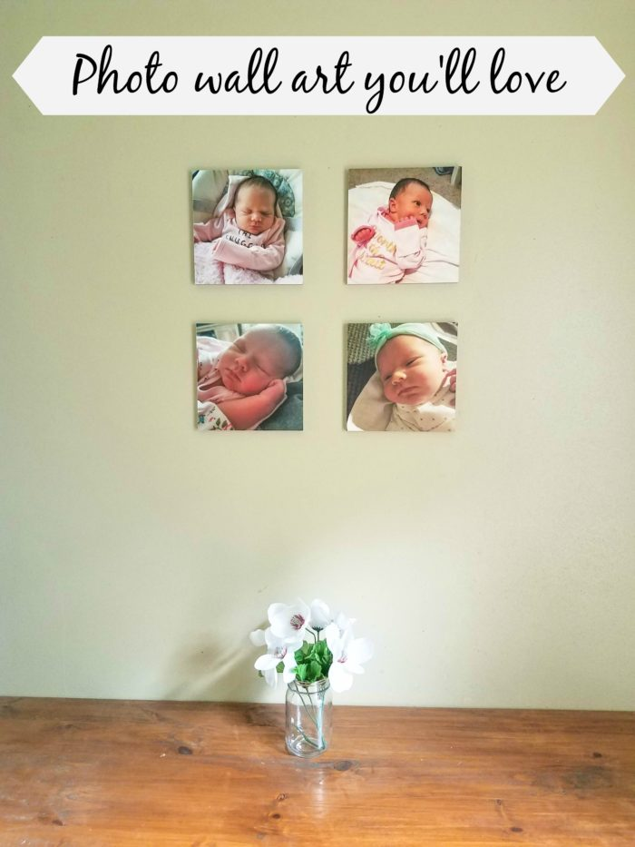 personalized photo wall art