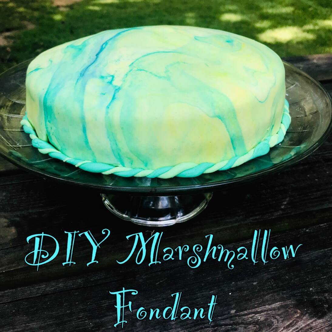 DIY Marshmallow Fondant