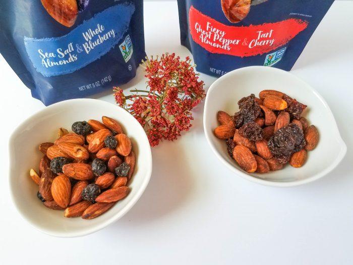 Blue Diamond Almonds & Fruit sophisticated party snacks