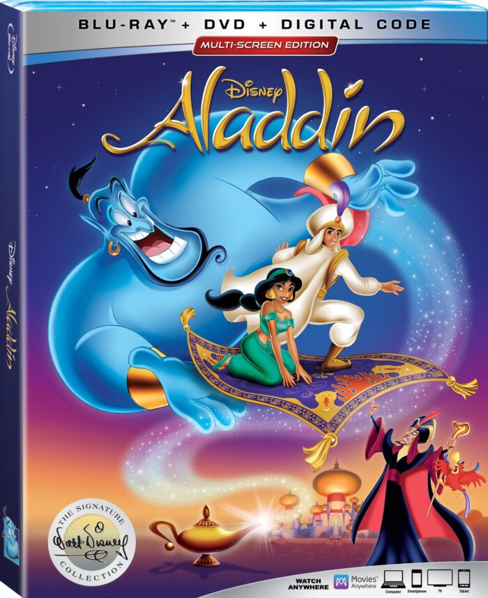 The Animated Classic Aladdin Joins the Walt Disney Signature Collection