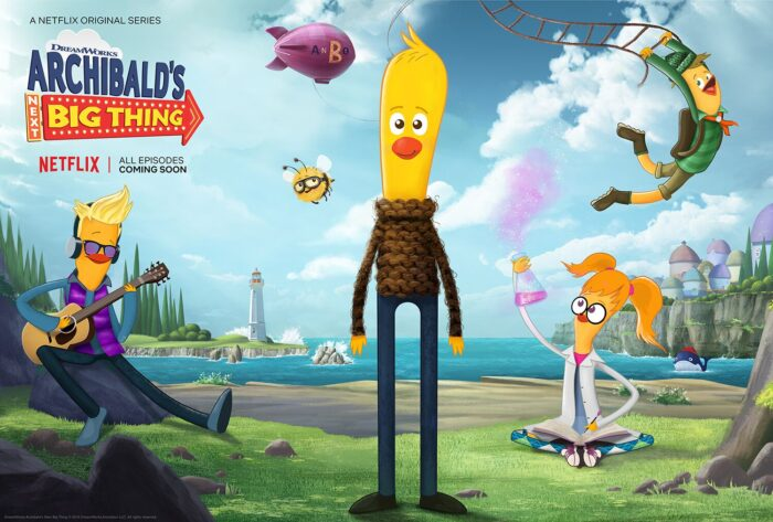 DreamWorks Debuts for Archibald's Next Big Thing
