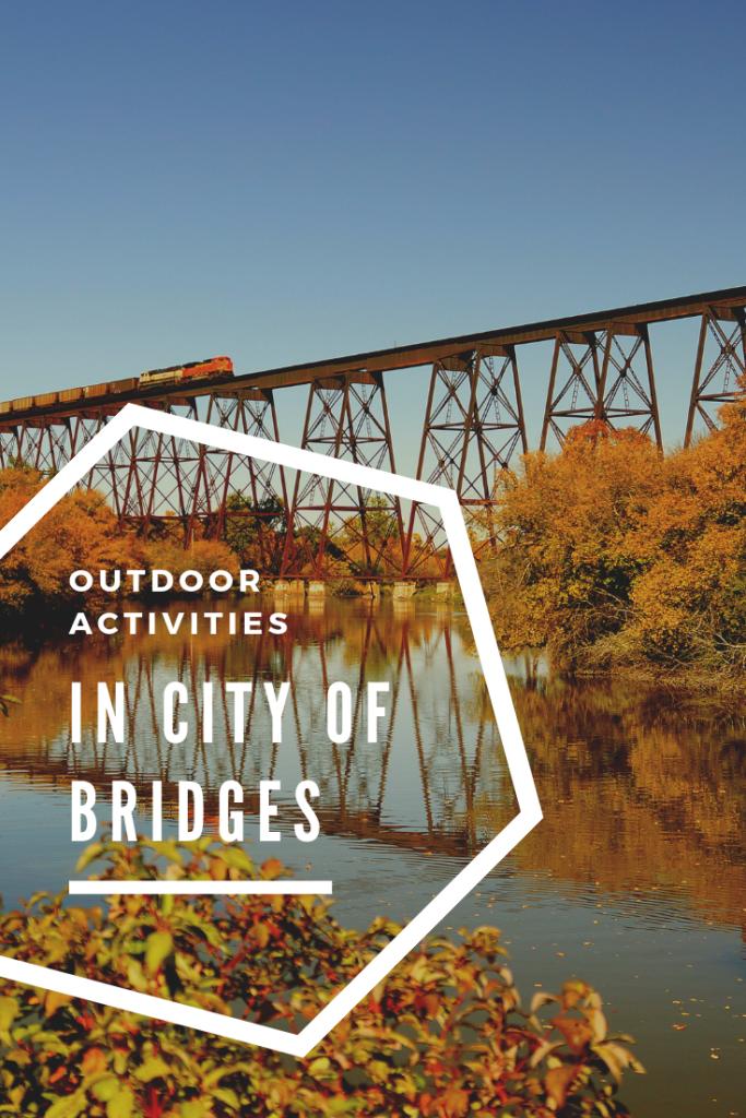 outdoor activities in city of bridges