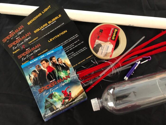 Spider-Man: Far From Home Science Activities