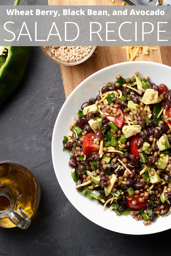 Wheat Berry, Black Bean, and Avocado SALAD RECIPE