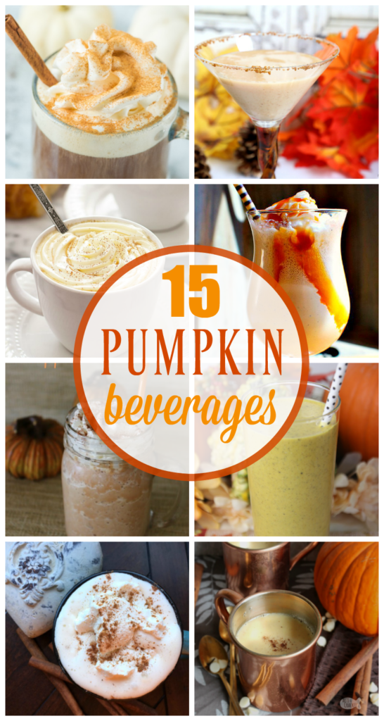 pumpkin beverages you can make at home