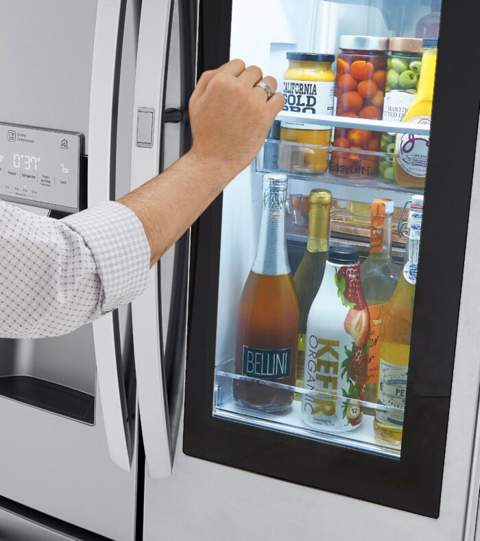 LG InstaView Door-in-Door Refrigerator with Craft Ice