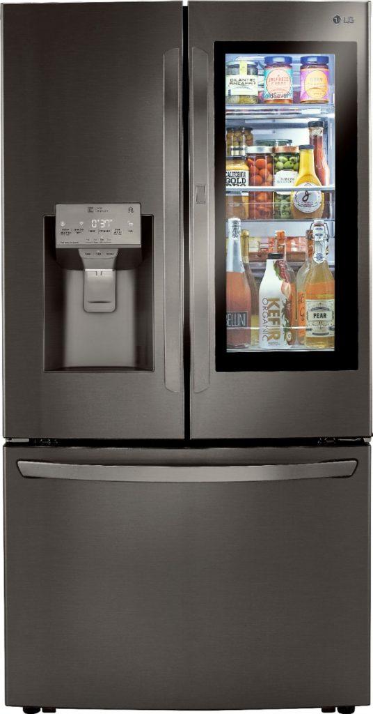 LG InstaView Door-in-Door Refrigerator with Craft Ice