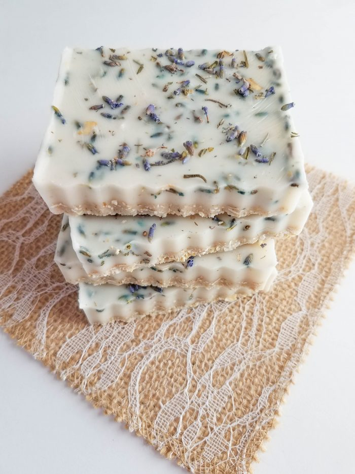 melt and pour lavender oatmeal soap recipe