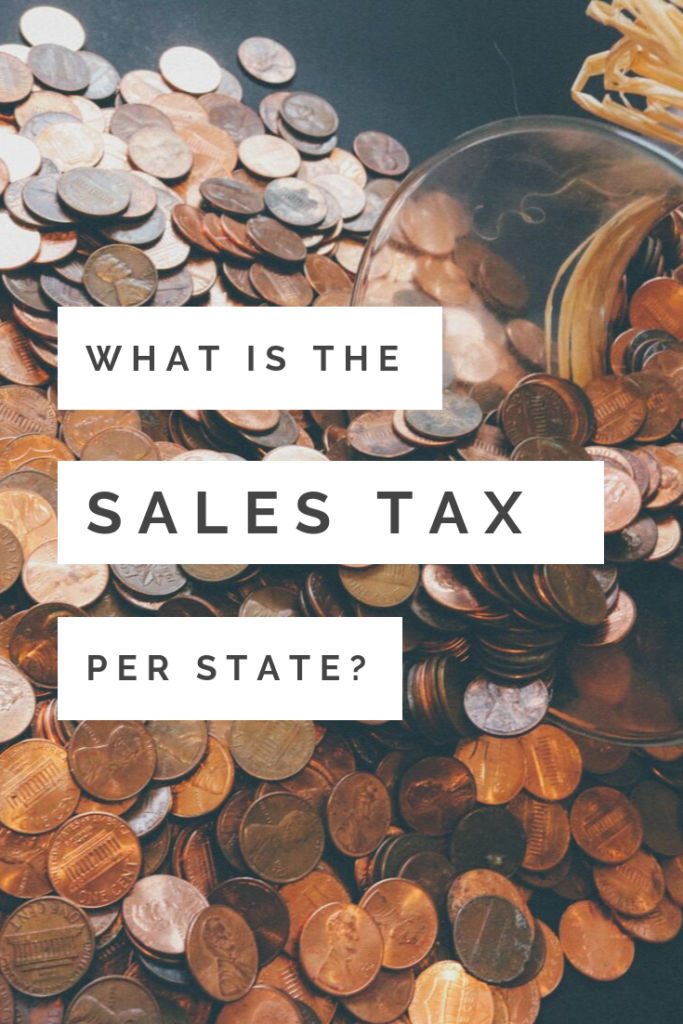 What Is the Sales Tax Per State?