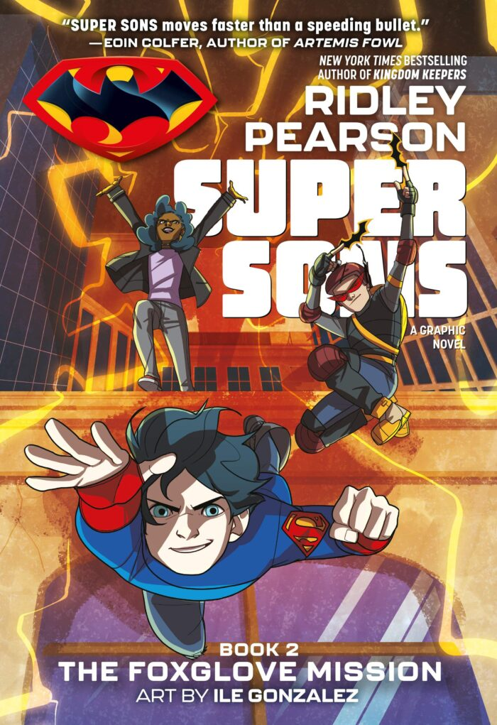 Book 2 Super Sons: The Foxglove Mission (Graphic Novel Review)