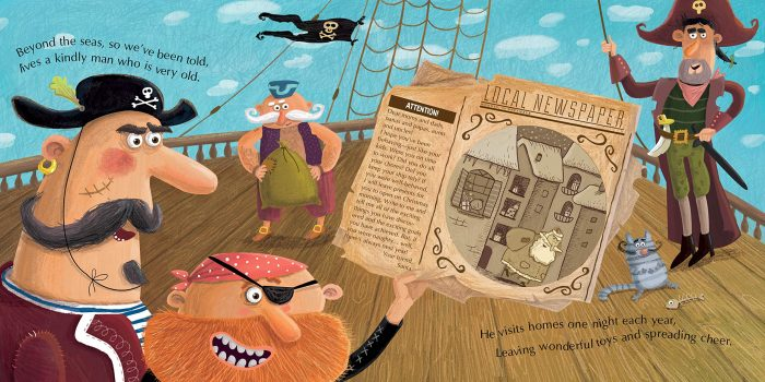 Happy Holidays, Pirates - Book Review