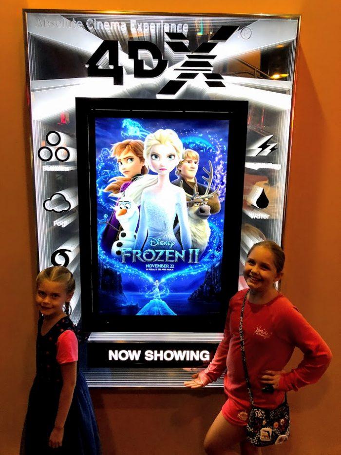 Disney's Frozen 2 in 4DX Theaters