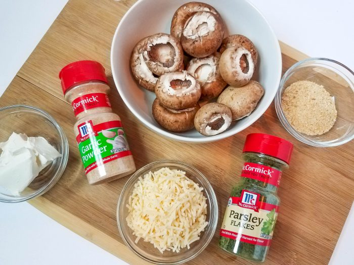 how to make stuffed mushrooms