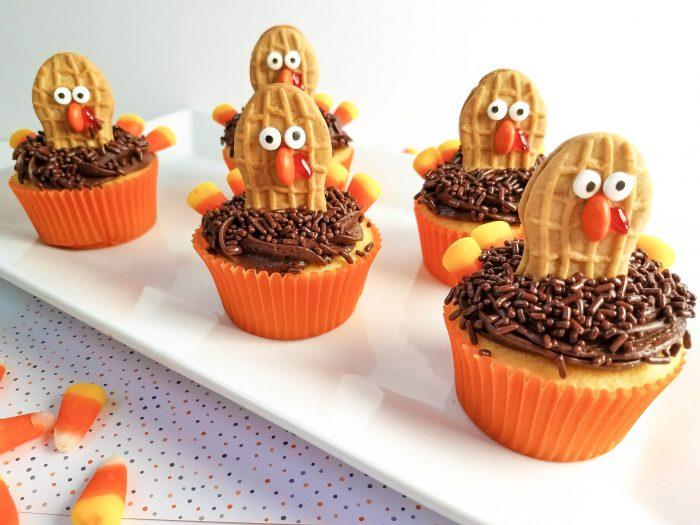 thanksgiving turkey cupcakes recipes