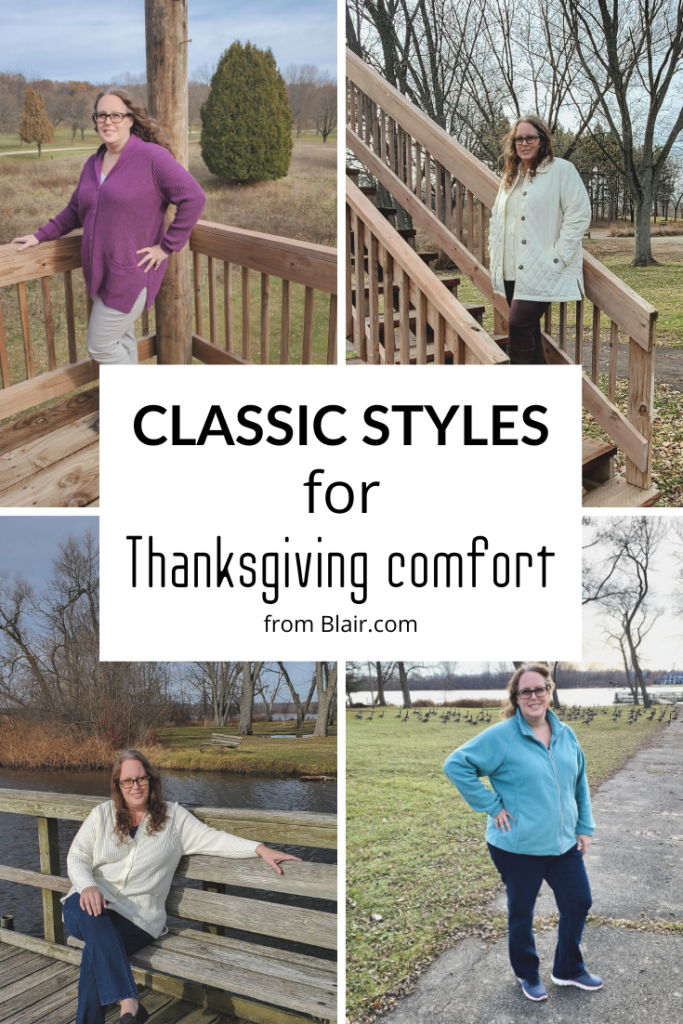 classic styles for thanksgiving comfort