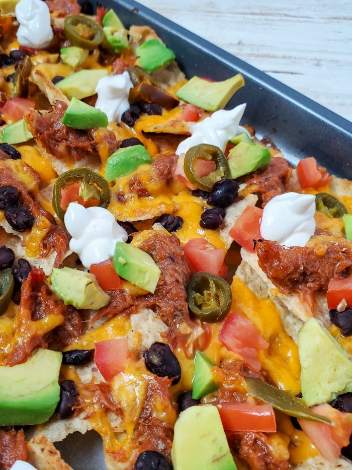BBQ Pork Loaded Nachos Recipe