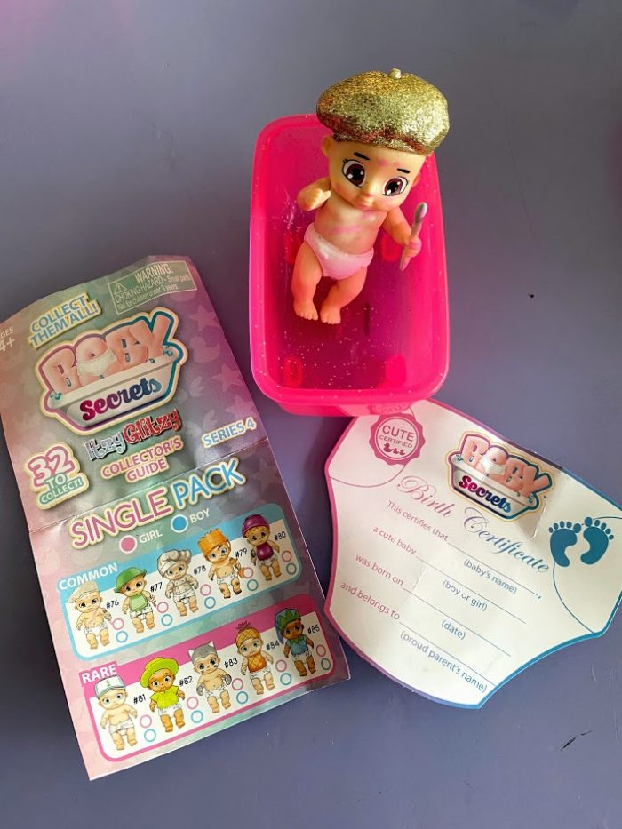 Discover Glitter & Treasure with the NEW Baby Secrets & Merbabies