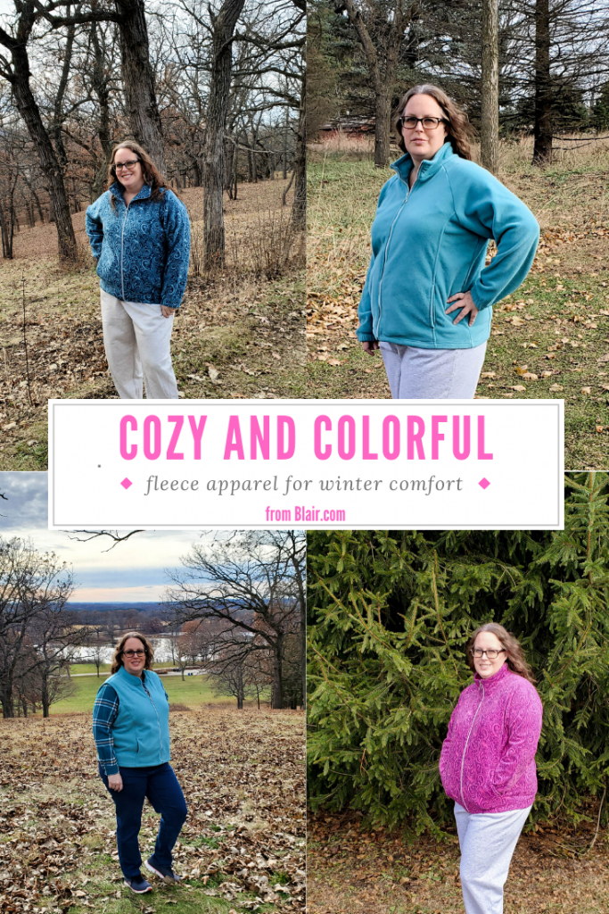 Cozy and Colorful Fleece for Winter