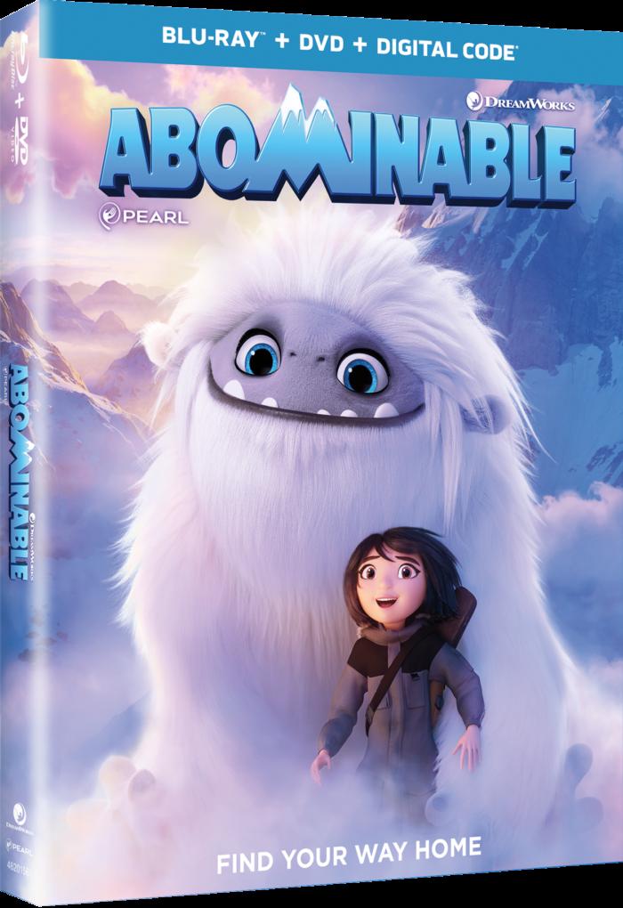 Abominable on Blu-ray, DVD & Digital