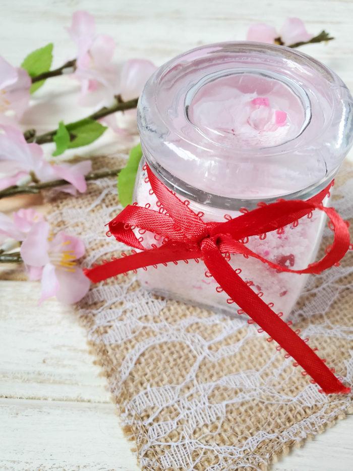 Bubbling Bath Salts Recipe