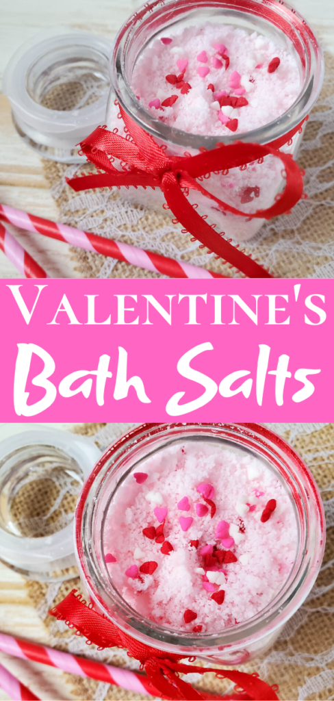 Valentine's Bath Salts