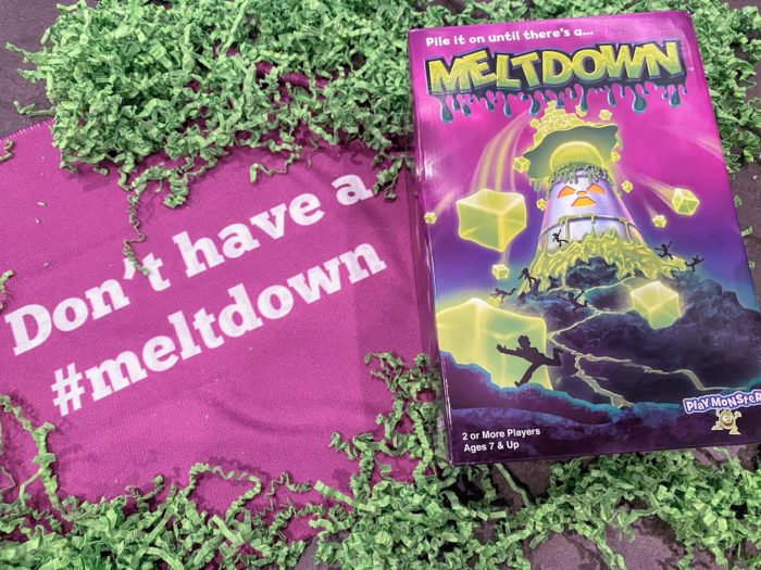 PlayMonster's MELTDOWN is the Game with a Gooey Twist!