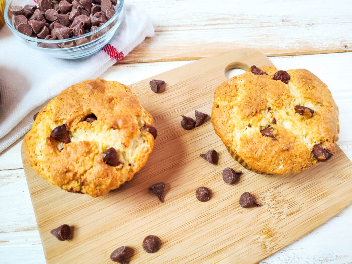 chocolate chip muffins with oil