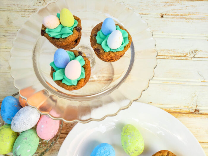 cookie cups with robin eggs