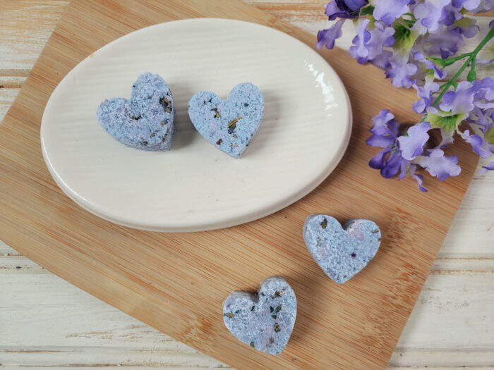 shower melts with lavender essential oil
