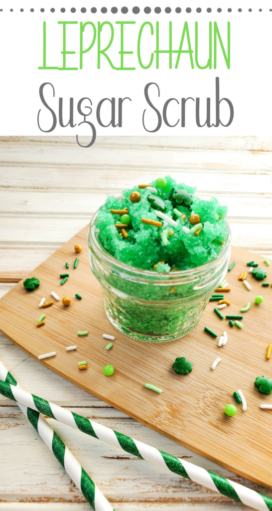 leprechaun green sugar scrub
