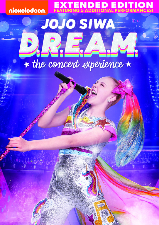 Nickelodeon's JoJo Siwa D.R.E.A.M The Concert Experience on DVD