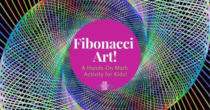Teach the Fibonacci Sequence with this Easy Math & Art Activity!