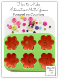 How to Make Interactive Math Games Focused on Counting