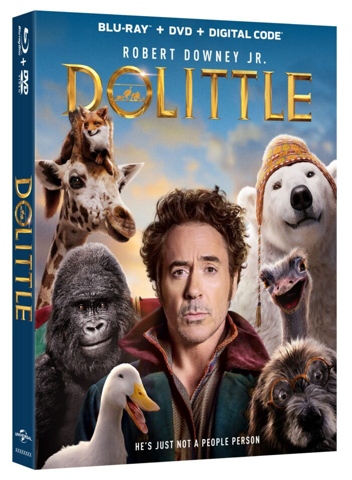 DOLITTLE Arrives on Digital March 24 & on 4K Ultra HD, Blu-ray, DVD & On Demand on April 7