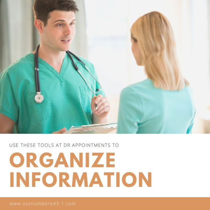 Organize Info from Doctor's Appointments