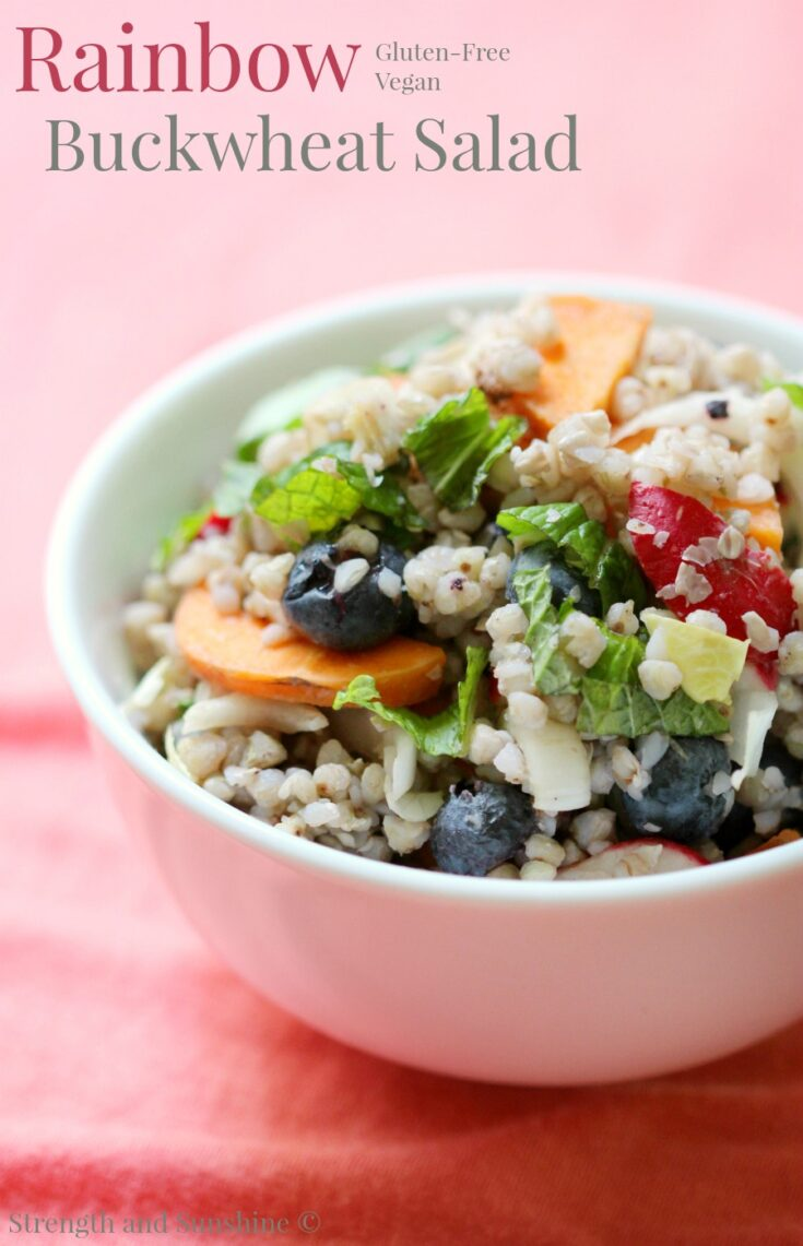 Rainbow Buckwheat Salad
