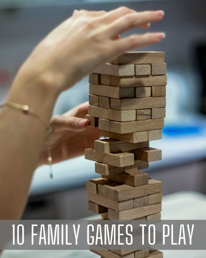 fun family games at home