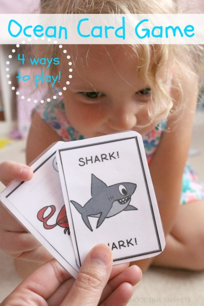 Go Fish NUMBERS Printable Card Game