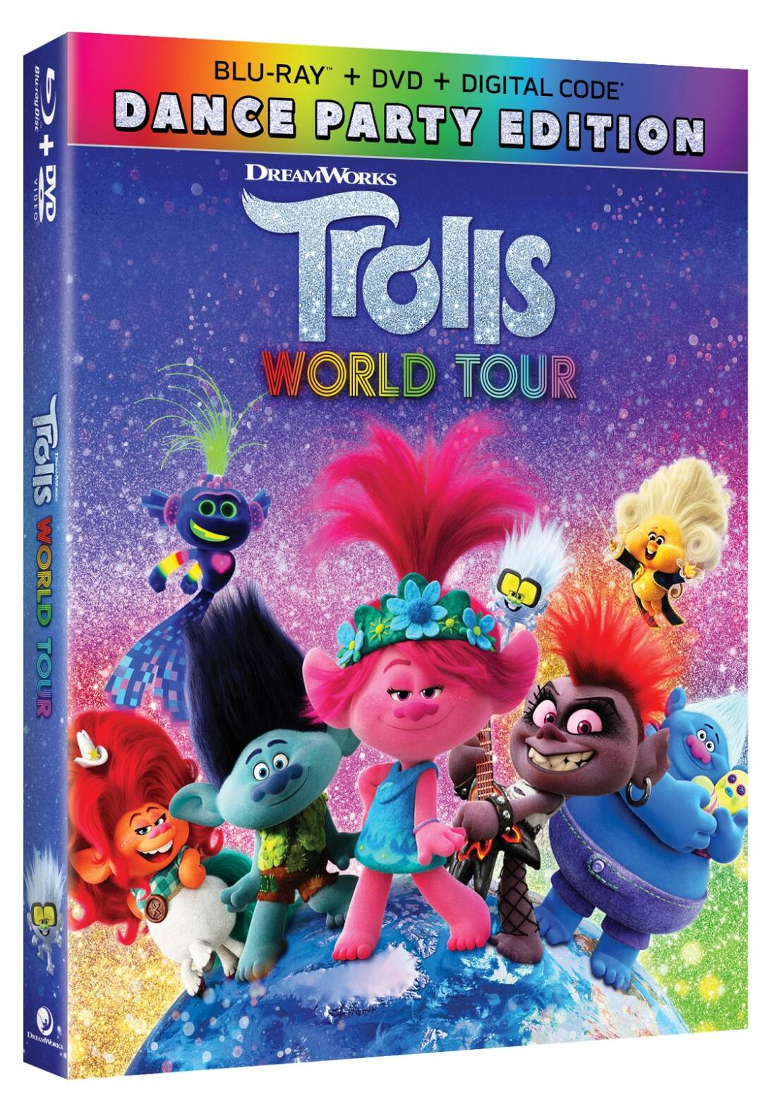 Trolls World Tour Now Available On 4k Ultra Hd Blu Ray Dvd Digital Outnumbered 3 To 1 For the species of the same name, see trolls (species). 4k ultra hd blu ray dvd